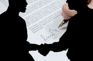 signing a pest control contract
