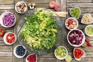 food pests on salad