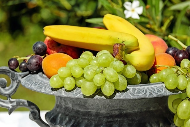 ripe fruit bowl
