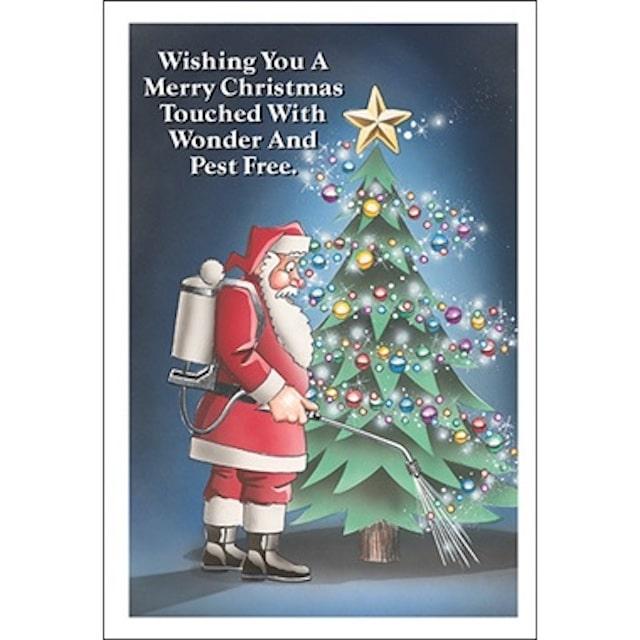 pest control christmas card 1