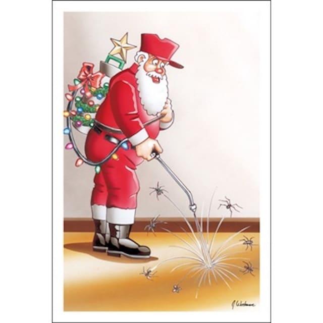 pest control christmas card 2