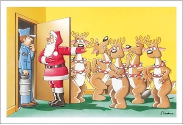 pest control christmas card 5