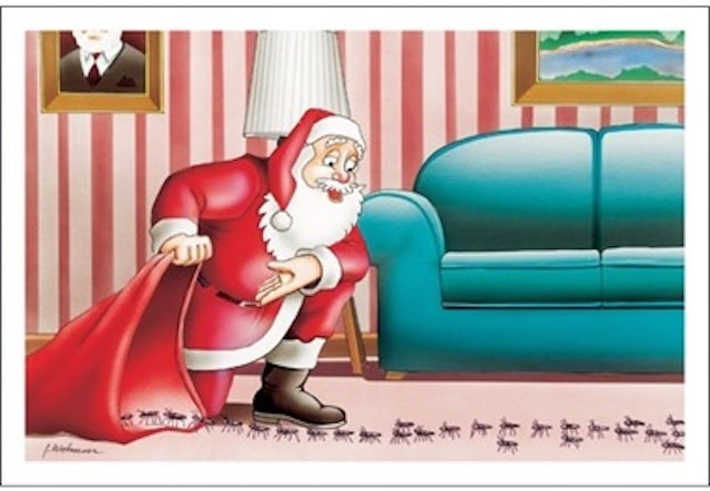 pest control christmas card 6