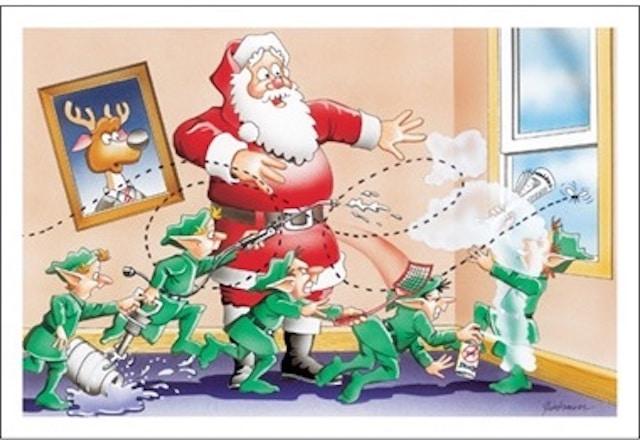 pest card christmas cards 8