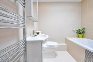 bathroom in london flat
