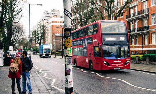 london bus with bed bugs