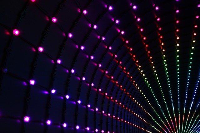 flashing led lights