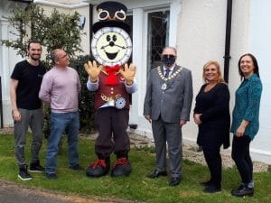 visit from the mayor