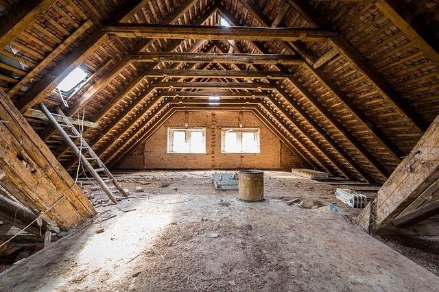 attic in london house